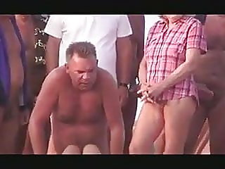 beach,public nudity,handjob