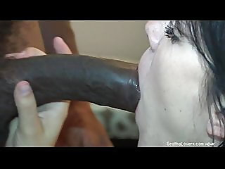blowjob,creampie,interracial